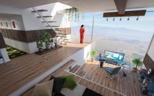 interior, design, room